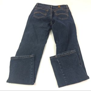 Aura Women's Blue Jeans Straight 4